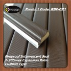 PE covered fireproof intumescent seal striP RBF-CR1