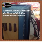 Safe box Flexible fireproof intumescent seal
