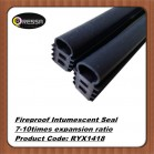 Special shape intumescent seal RYX1418 black color