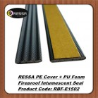 PE covered fireproof intumescent seal striP RBF-E1502